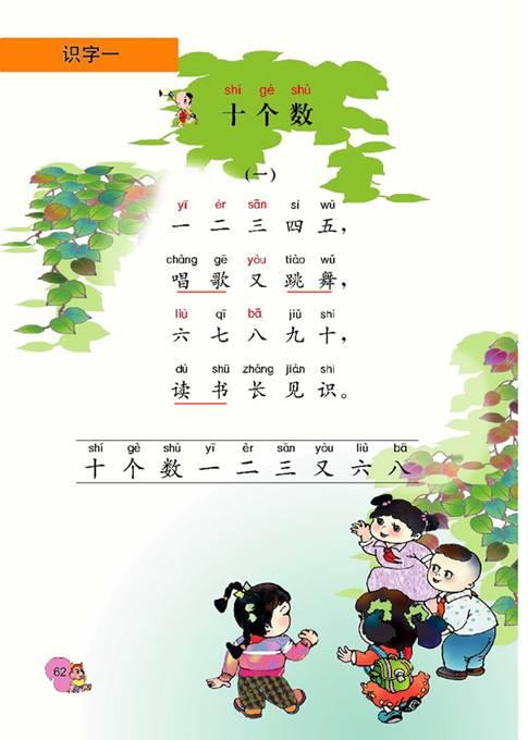 田字格,认识汉字的9种基本笔画