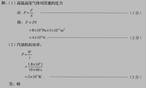 物理经典例题 - 初中资料分享