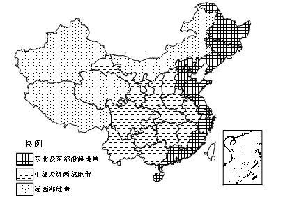 庐山风景区地形图
