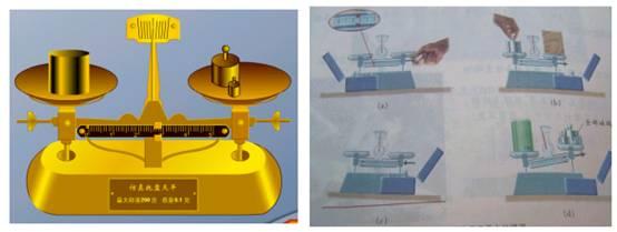 用托盘天平测量物体的质量,测量过程中向右移动游码的作用相.