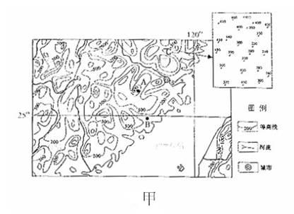 昆明市区经纬网地图
