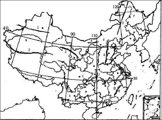 北京手绘轮廓地图