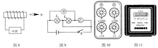 39.实验桌上有如下器材:符合实验要求的电源一个、电流表和电压表各一只、开关一个、各种阻值已知的定值电阻和导线若干。要求从实验桌上选择适当器材,设计一个实验证明:当通过电阻的电流保持不变时,电阻消耗的电功率与该电阻的阻值成正比。请根据上述要求,画出实验电路图,并写出实验步骤,画出实验数据记录表。