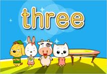 3、three